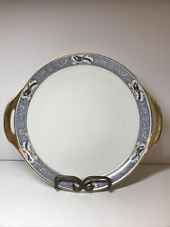 Theodore Haviland Limoges France Rani China Serving Plate With Handles.
