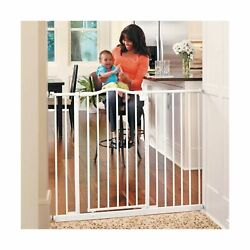 Toddleroo By North States 46.8 Wide Tall And Wide Portico Arch Baby Gate Heav...