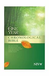 The One Year Chronological Bible Niv Softcover