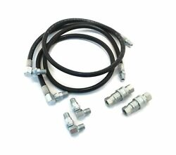 Power Angle Hose And Fittings Replacement Kit For E47 Meyer Snow Plow Snowplow ...