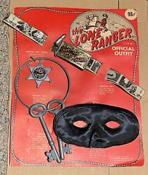 Vintage 1930''s Lone Ranger Official Outfit Extremely Rare