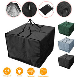 Outdoor Patio Furniture Cushions Storage Bag With Zipper And Handles Waterproof