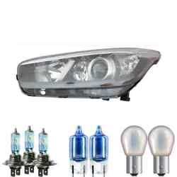 Halogen Headlight Left H7/h7/h7 For Kia Ceeand039d Sports Car Including Lamps