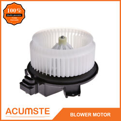 Heater A/c Blower Motor W/fan Cage For Compass Accord Edge Dts Pilot 700203