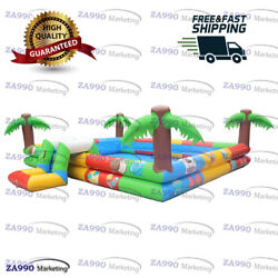 13x16ft Commercial Inflatable Water Colorful Swimming Pool With Air Pump