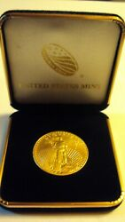 1997 Fine Gold 1 Oz Gold American Eagle Us Mint Gold Eagle Coin