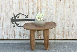Antique Tribal Turtle Carved Senufo Table