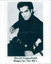 1992 David Copperfield Magician Magic For 90 Handsome Emmy Award 8x10