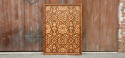 Fascinating Agra Brass And Bone Inlay Wall Panel