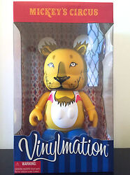 Disney Vinylmation 9 Mickey's Circus Lion Toy Le 100 Under The Big Top Toy King