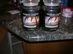 YANKEE CANDLES 2 22 0Z BLACK COCONUT DISCONTINUED SUPER SCENTED CANDLE SHIP FREE
