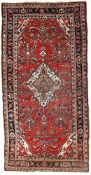 Handmade Antique Oriental Rug 5and039 X 9.9and039 153cm X 302cm 1920s - 1c688