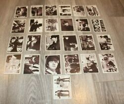 Beatles Movie A Hard Day's Night Trading Cards 1964 -lot Of 25  Not A Set
