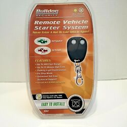 NEW Bulldog Security Model RS82 Remote Vehicle Starter System