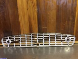 Triumph Tr3a Tr3b Andbull Original Front Widemouth Grille. For Parts.  T2276