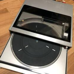 Sony Ps-fl77 Stereo Turntable Record Player Biotracer / Linear Vintage Japan