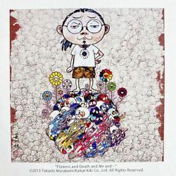 Takashi Murakami Posters Flowers Death And Me 300 Pieces Limited