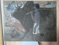 Tew Naitong.malaisie.huile 90x68cm.datandeacute 1966.oeuvre Majeure.