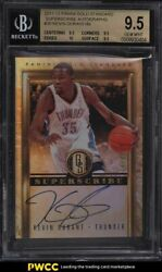 2011 Panini Gold Standard Superscribe Kevin Durant Auto /49 35 Bgs 9.5 Gem Mint