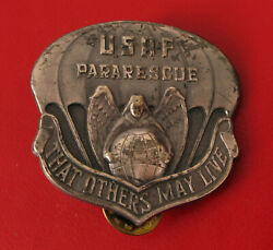 Usaf Usaaf Pararescue Insignia Medal So That Others May Live Paratrooper S21