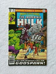 Marvel Super Heroes 94 Jan Featuring The Incredible Hulk -1980 Godspawn