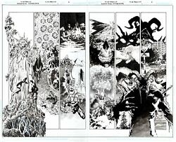 Perkins Future State Swamp Thing 1 Pgs 2 And 3 Best Pages From Hot Sold Out Comic