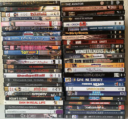 Lot Of 50 Used Dvd Movies 50 Bulk Dvds Used Dvds Lot Wholesale Titles In Picture