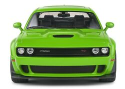 2020 Dodge Challenger R/t Scat Pack Widebody Green 118 Scale By Solido 1805704