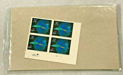 Us 4019 14.40 X-plane Express Mail Plate Block Xf P.o. Sealed Package
