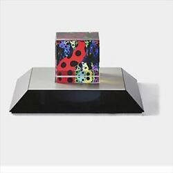 Yayoi Kusama Object Love Is Calling Japanese 2013 Limited 500 Pieces Glass Cube