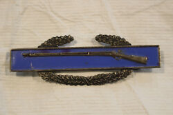 Wwii Us Army Cib Combat Infantry Badge Sterling Ref7