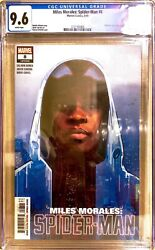 Miles Morales Spider-man 8 Cgc 9.6 White Pages Marvel Comics Oandrsquokeefe Cover