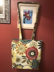 Crossbody Reversible Tote For School Beach Baby Airport Daily Use HANDMADE $19.99