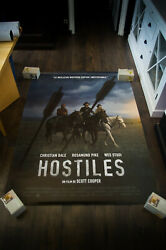 Hostiles Style B 4x6 Ft French Grande Rolled Movie Poster Original 2018