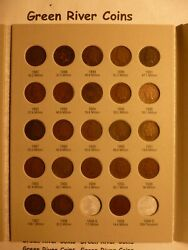 1859-1909 Indian Head Penny Cent Collection Page 3 New Harris Folder 1887-1909