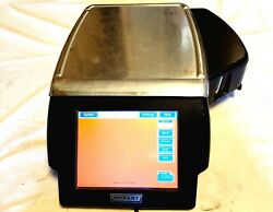 029289-jr Hobart Hlxwm Deli Load Cell Scale With Lcd Display And Printer