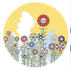 Takashi Murakami A Memory Of Him And Her On A Summer Ed.300 Signed 727 Flower