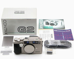 Contax G2 Body Contax Inspection Only Unused Item