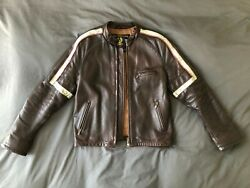Belstaff Hero Jacket Bison Leather Xl From War Of The Worlds With Tom Cruise