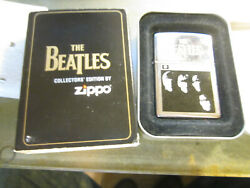 Vintage New 1997 In Tin/ Sleve With The Beatles Zippo Lighter Nib
