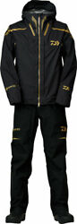 Daiwa Dr-1121t Tournament Gore-tex Pack Light Plus Rain Suit Black M Xl Fishing