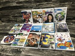 Wii Games Lot Of 14 Rated E Kids Games I Carly Rudolph Deca Sports Toy Story