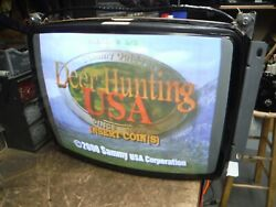 19quot; Electrohome G07 Rebuilt Complete Working Arcade Monitor #3