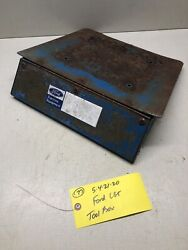 Ford Lgt 100 120 125 145 165 Jacobsen 1000 1200 Tractor Tool Box