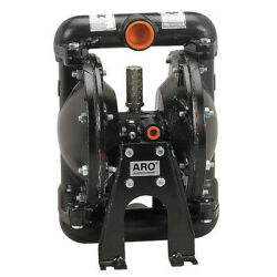 Aro 666101-2eb-c Double Diaphragm Pump Stainless Steel Air Operated