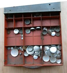 1950s Dorm Freeze Plugs And Display Case