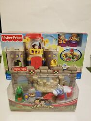 Fisher Price Little People Lil Kingdom Castle Palace And Sir Lance A Little