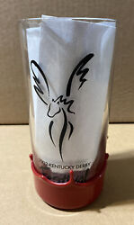 Makers Mark Red Pepsi Wax Dipped Kentucky Derby Festival Glass 2002 pegasus