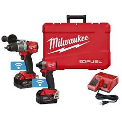 M18 Fuel One-key 18-volt Lithium-ion Brushless Cordless Hammer Drill/impact Kit
