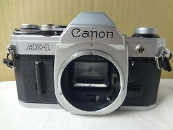 Canon Ae-1 35mm Film Slr Camera Light Seal Renewed From Japan Excellent++ 2963